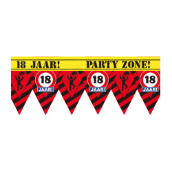 Party tape 18 jaar