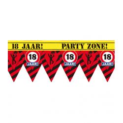 Party tape 18 jaar