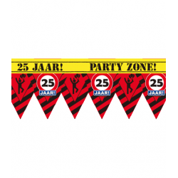 Party tape 25 jaar