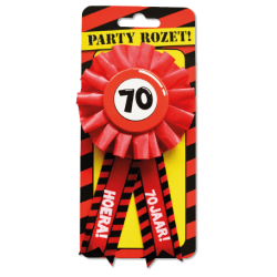 Party rozet 70 jaar