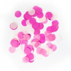 Confetti groot baby roze