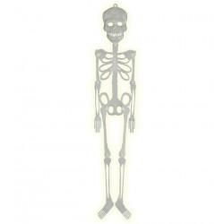 Skelet kunststof glow in the dark