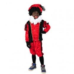Pietenpak kind rood/zwart
