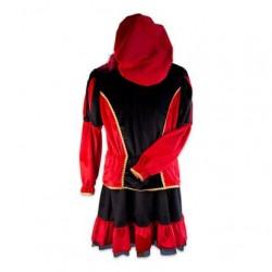Pietenjurk volwassenen rood/zwart
