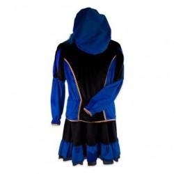 Pietenjurk volwassenen blauw/zwart
