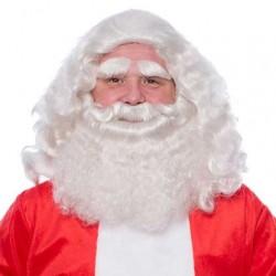 Baardstel kanakelon kerstman deluxe