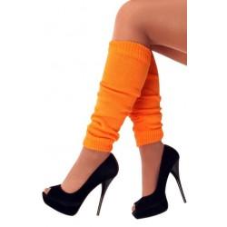 Beenwarmers fluor oranje