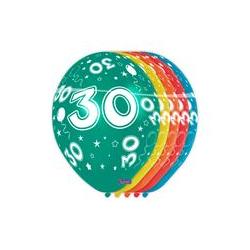 Ballonnen cijfer 30