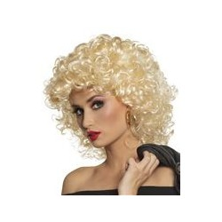 Pruik Grease Sandy blond