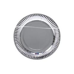 BOrden metallic zilver