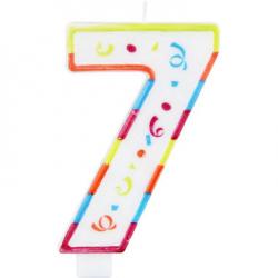 Taartkaars XL - cijfer 7