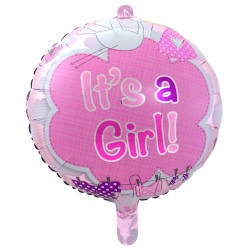 Folieballon It's a girl