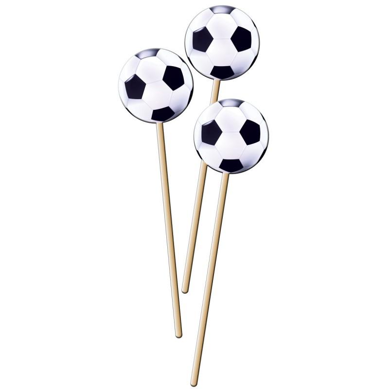 Sateprikkers met voetbal