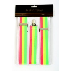 Bretels 3-kleuren fluor