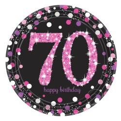 Borden 70 metallic roze
