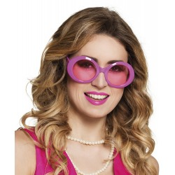 Bril fluor roze