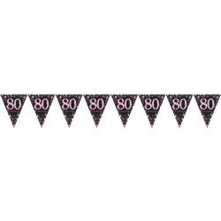 Vlaggenlijn 80 metallic roze