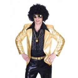 Disco fever jas goud