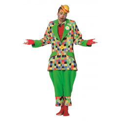 Clown groen heren