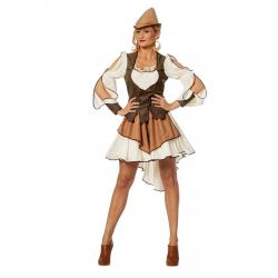 Sherwood kostuum dames