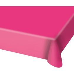 Tafelkleed hard roze
