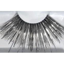 Wimpers 226 lang zwart met zilver