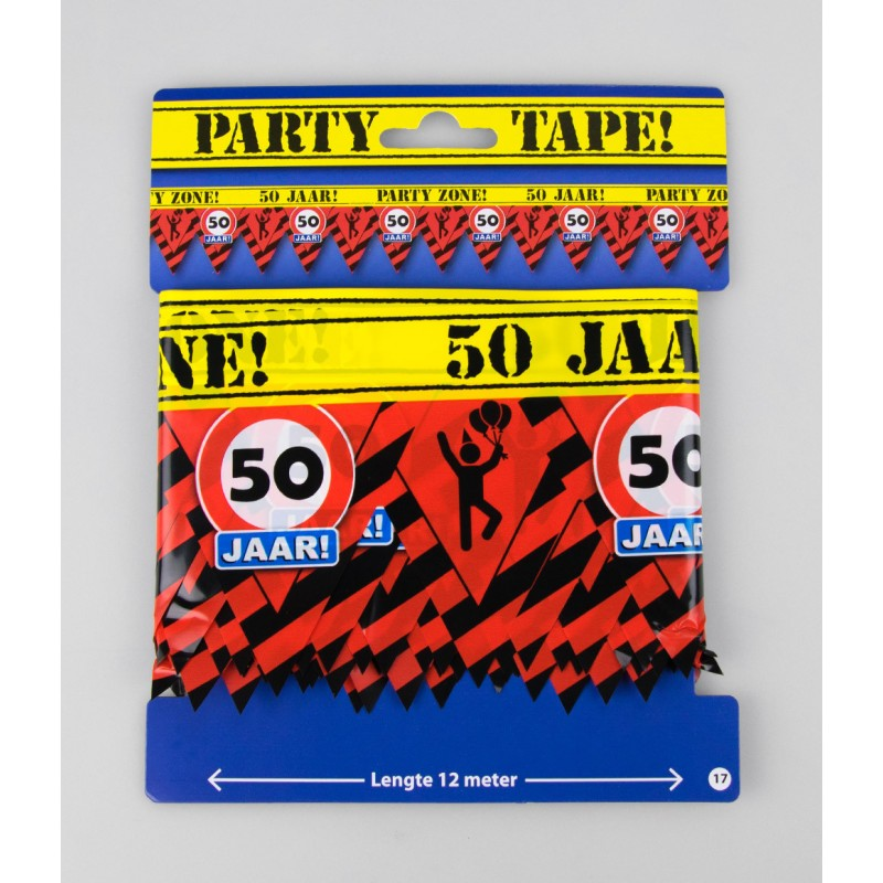 Party tape - 50 jaar