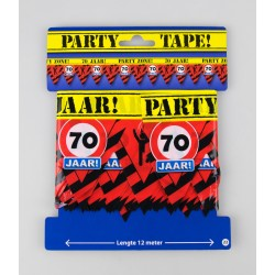 Party tape - 70 jaar