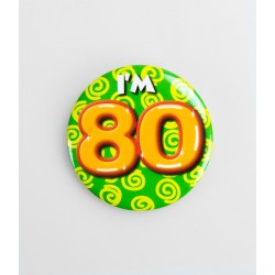 Button - 80 jaar