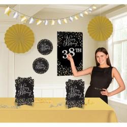 Decoratie kit met leeftijdstickers