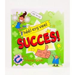 wenskaart succes cartoon