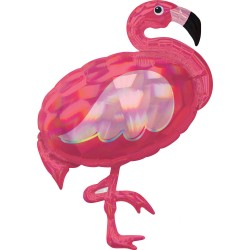 Heliumballon flamingo