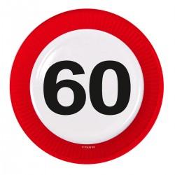 Borden verkeersbord 60