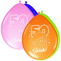 Ballonnen sarah rainbow