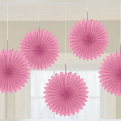 Decoratie fans new pink