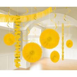 Decoratie kit Yellow Sunshine