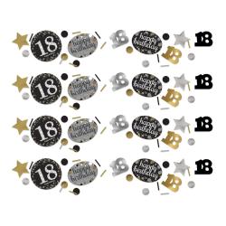 Confetti 18 metallic goud