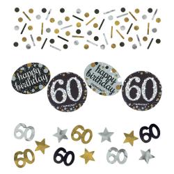 Confetti 60 metallic goud