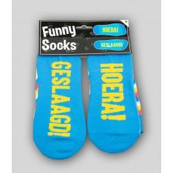 Funny socks 'Geslaagd'