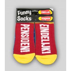 Funny socks 'Pensioen'