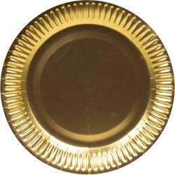Borden metallic goud