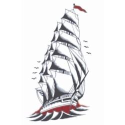 Plaktattoo schip