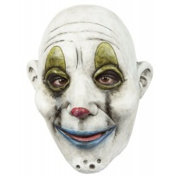 Latex hoofdmasker Clown gang tiger