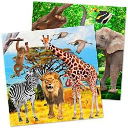 Servetten safari