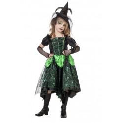 Heksenjurk groen kind