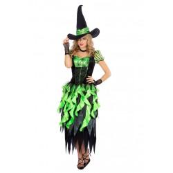 Heksenjurk wicked groen