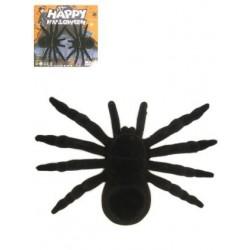 Grote zwarte spinnen 2 stuks