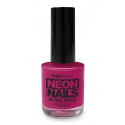 UV / blacklight nagellak roze