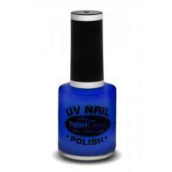UV / blacklight nagellak blauw
