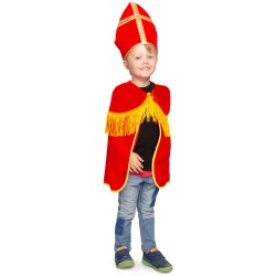Sinterklaas cape met mijter
